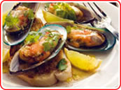 Chilli Honey Glazed Green Shell Mussels