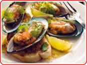 Chilli Honey Glazed Green Shell Mussels